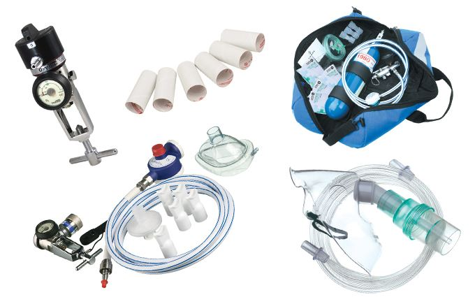 Medical gases and oxygen equipment