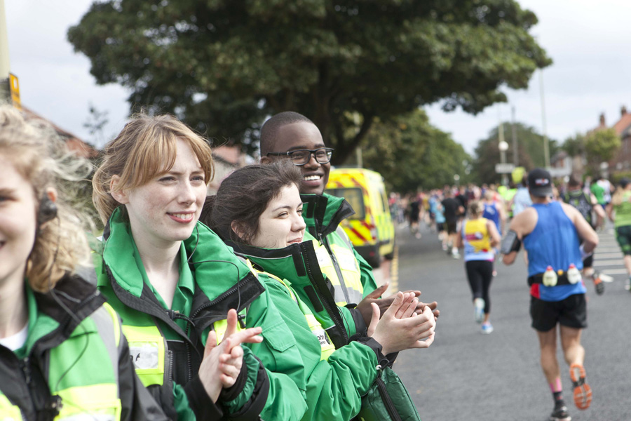St John Ambulance event first aiders