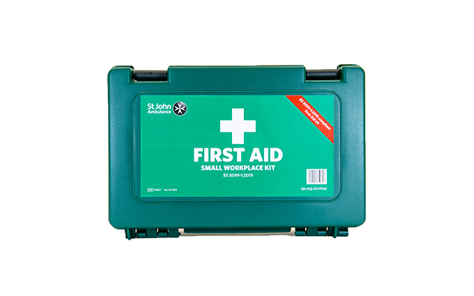 St John Ambulance Small Standard Workplace First Aid Kit BS 8599-1:2019 St John Ambulance Small Standard Workplace First Aid Kit BS 8599-1:2019