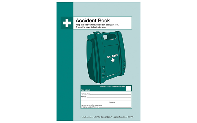 Accident Book (Updated 2018)